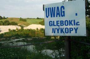 Mielnik Kredowa dziura i rezerwat Uszeście