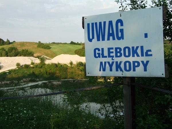 Mielnik. Kredowa dziura i rezerwat Uszeście
