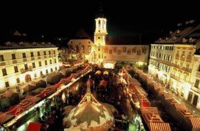 Bratysława Świąteczny kiermasz w słowackiej stolicy