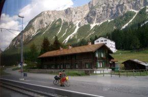 Alpy Retyckie Przełęcz Albula Koleją Retycką