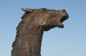Pozořice Pomnik poległych pod Austerlitz… koni