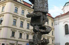 Praga Pomnik z tysięcy kluczy