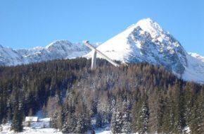 Szczyrbskie Jezioro Tradycje narciarskie wokół skoczni