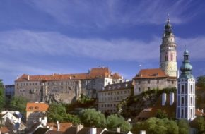Český Krumlov Sławne rody na zamku