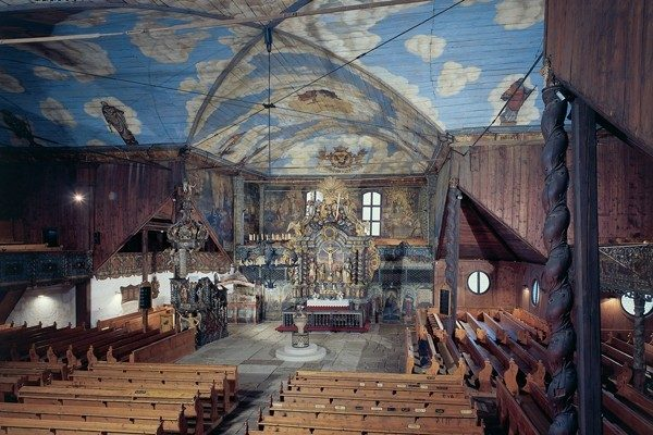 Kežmarok. Artykularny kościół za murami