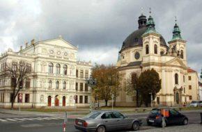 Kroměříž Stare miasto i biskupie ogrody