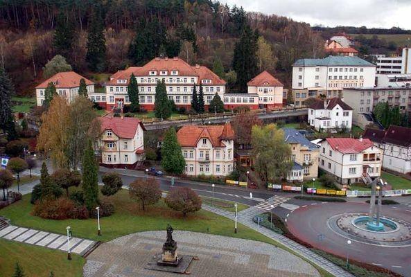 Luhačovice. Największy kurort na Morawach