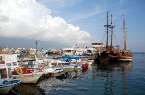 Pafos Wędrówki starożytnego miasta