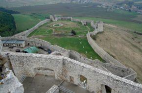 Zamek Spiski Największe obronne gruzy w Europie
