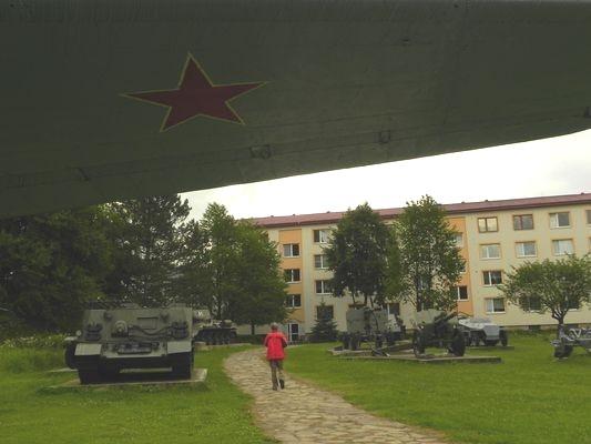 Svidník. Mina-muzeum i z gwiazdą iglica