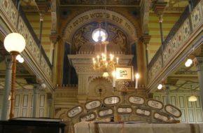 Preszów W złoto-żółtej synagodze