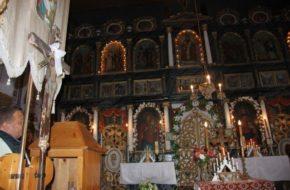 Blechnarka Cerkiew w dolinie ukryta