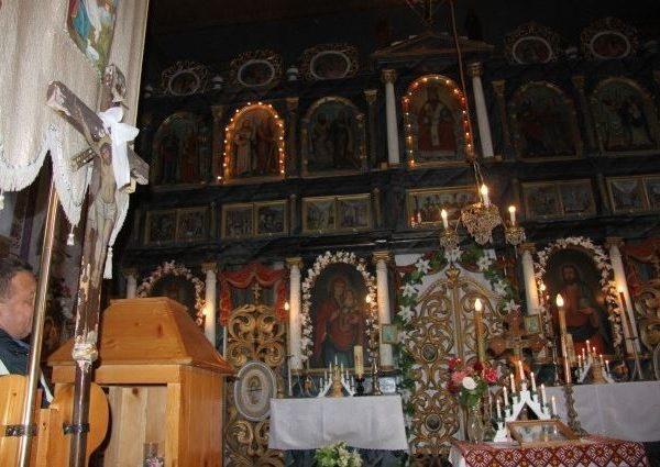 Blechnarka. Cerkiew w dolinie ukryta