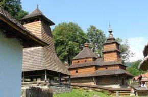 Bardejovské Kupele Cerkiew ze Zboja w szaryskim skansenie