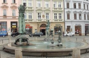 Ołomuniec Osiem fontann na starówce