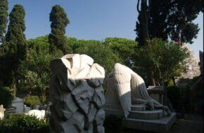 Rzym Cmentarz cudzoziemców i artystów