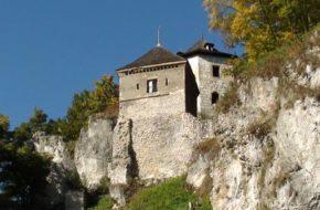Ojców Ruiny zamku, gdzie ojciec się krył