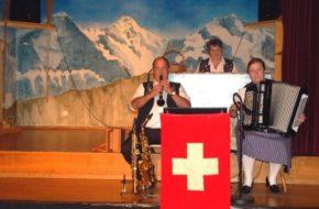 Interlaken Folklor po szwajcarsku