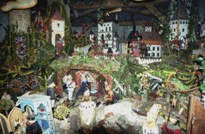 Karlštejn Królewska szopka na zamku