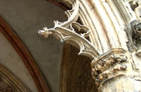 Strzegom Kamienne gotyckie koronki