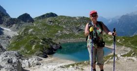 Piesze wycieczki w Dolomitach