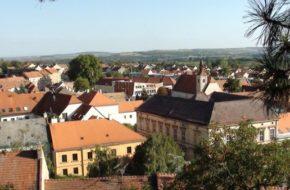 Mikulov Stare miasteczko na skraju Moraw