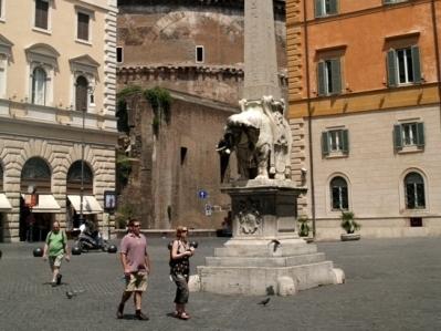 Rzym. Santa Maria sopra Minerva