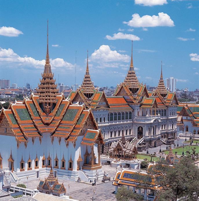 Bangkok Wielki Pałac Królewski