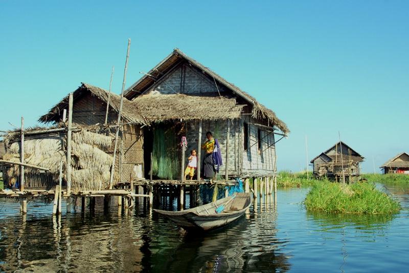 Shwe Nyaung Przystanek w drodze nad jezioro Inle
