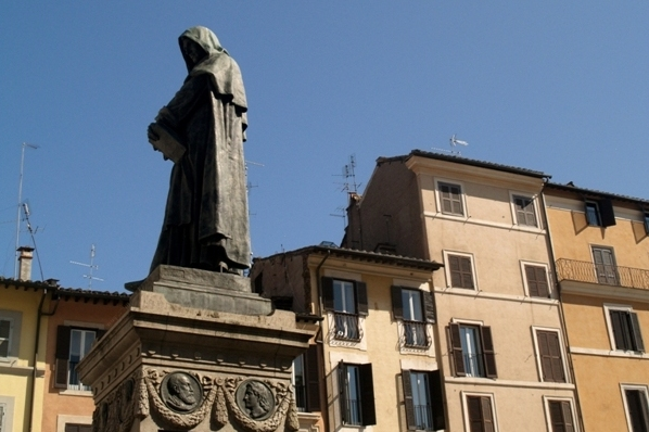 Rzym Giordano Bruno na Campo di Fiori