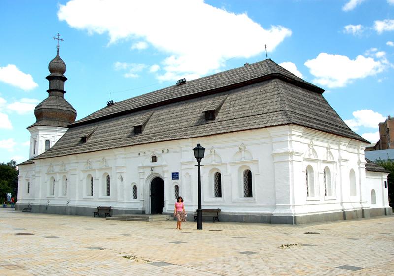 Kijów. Monaster Michajłowski… odbudowany