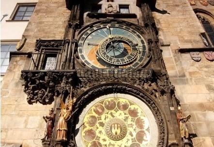 Praga. Zegar Orloj ma 600 lat