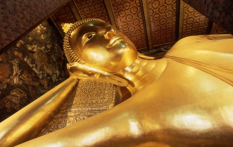 Bangkok Wat Po – świątynia Leżącego Buddy
