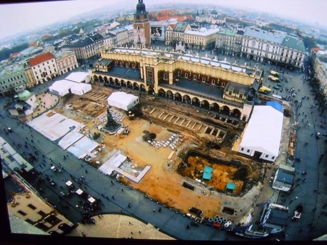 Kraków. Multimedialne podziemia Rynku