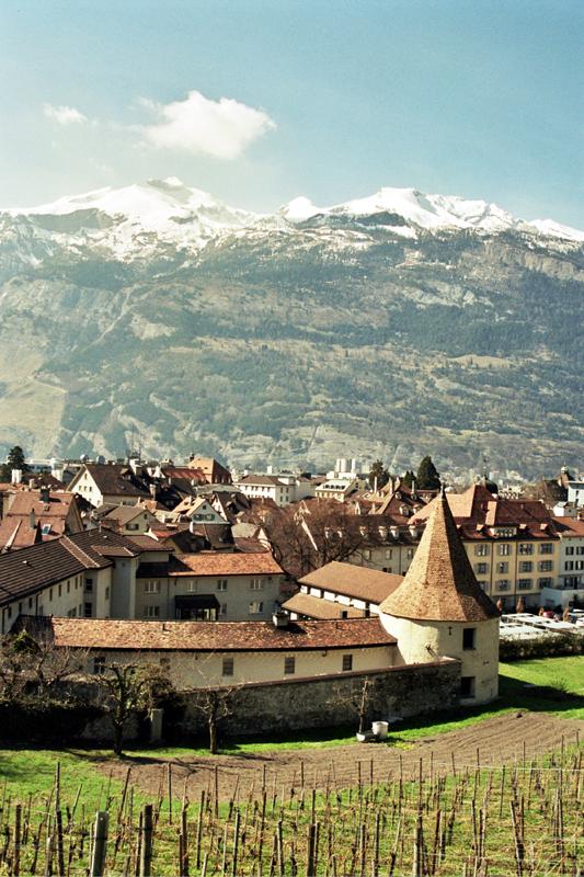 Chur. Najstarsze miasto w Szwajcarii