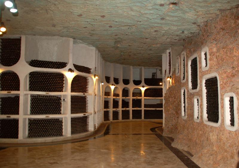 Cricova Winnice na dnie Morza Sarmackiego