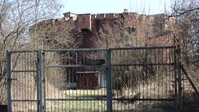 Kraków. Fort świętego Benedykta