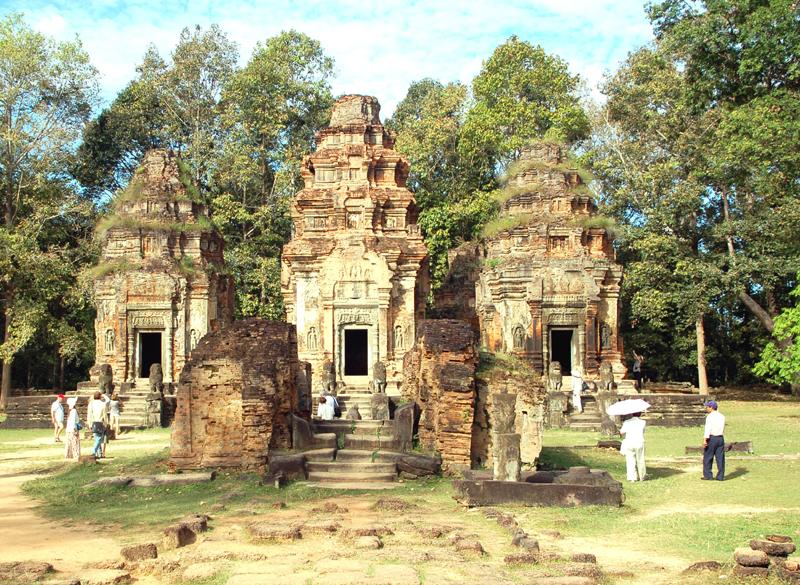 Roulos. Pierwsza stolica imperium Khmerów