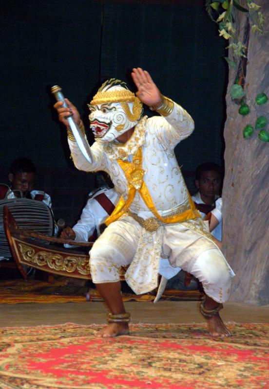 Siem Reap. Teatr opowiada historię Khmerów