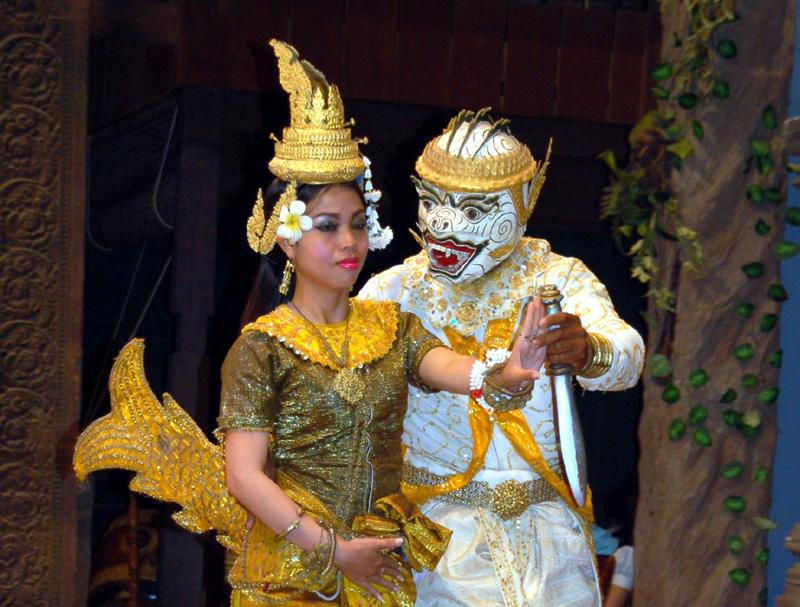 Siem Reap Teatr opowiada historię Khmerów