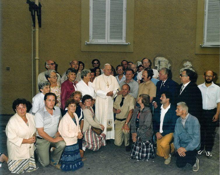 Castel Gandolfo. Spotkałem Papieża w letniej rezydencji