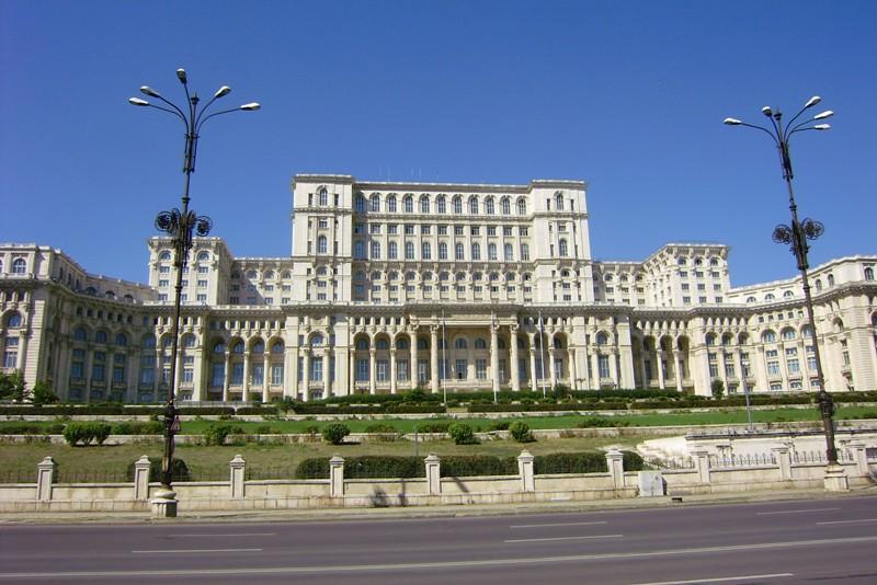 Bukareszt Osiem podziemnych pięter w pałacu