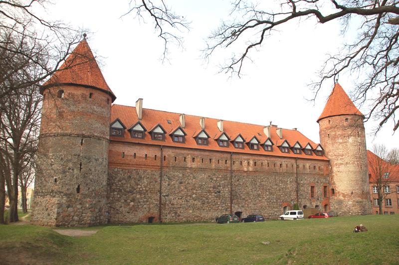 Bytów Krzyżacki zamek na Kaszubach
