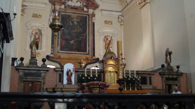 Kraków. W kościele kamedułów na Bielanach