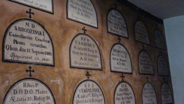 Kraków W kościele kamedułów na Bielanach