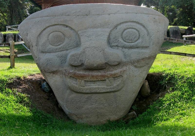 San Agustin Najciekawsze wykopaliska w Kolumbii