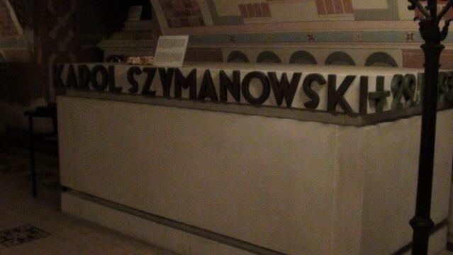 Kraków. Panteon Narodowy w krypcie na Skałce