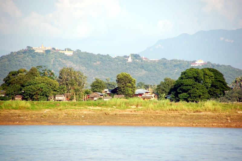 Mandalaj. Nad Irawadi, najdłuższą rzeką Birmy