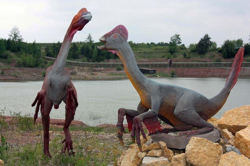 Krasiejów Oko w oko z dinozaurem