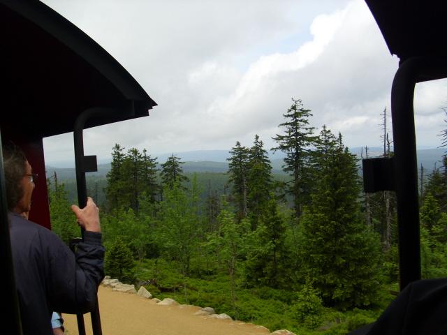 Harz Kolejką na słynny szczyt Brocken